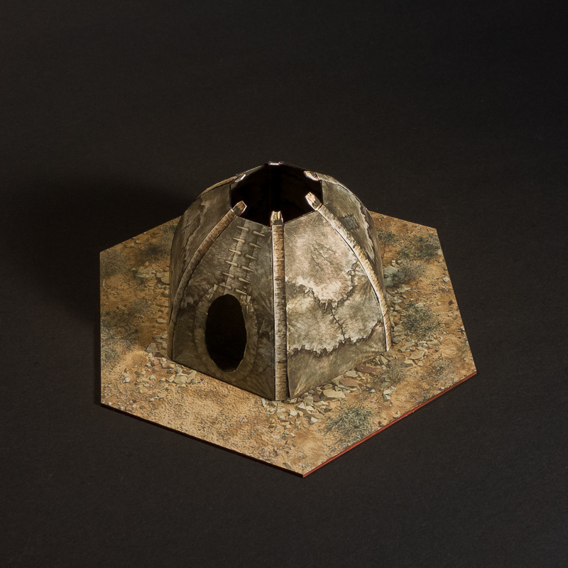 small huts hexbase with hut