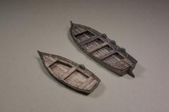 Rowing Boat vs Jolly Boat