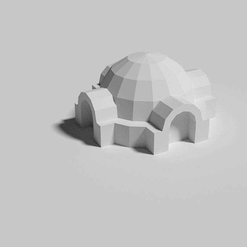 Lars homestead - PaperModelers com